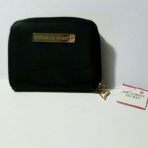 Victoria Sercret wallet black with multi slots